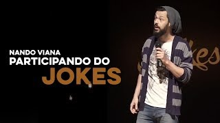 Fiz uma aula de Cross Fit - NANDO VIANA no JOKES