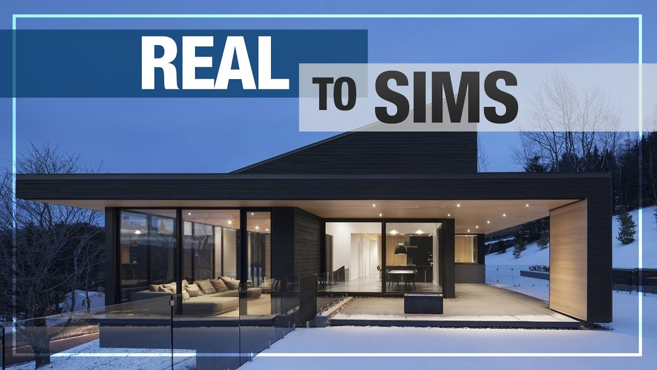 REAL TO SIMS | NEW SERIES! | MODERN HOUSE No.1 NO CC + DOWNLOAD LINK ...