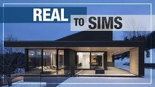 sims modern cc moderne series maison