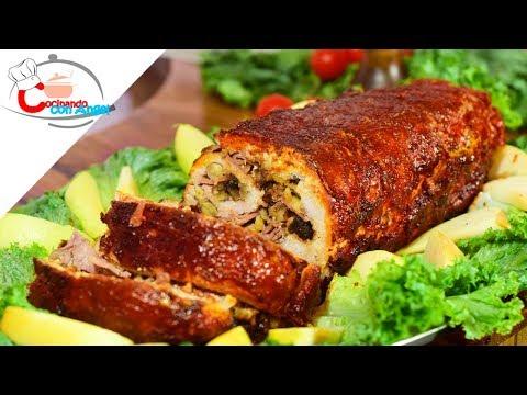 Recetas de lomo de cerdo relleno para navidad