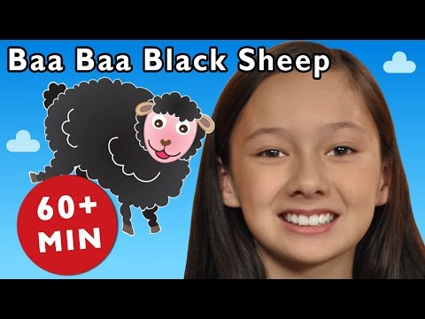 Baa Baa Black Sheep and More | Nursery Rhymes from Mother Goose Club!