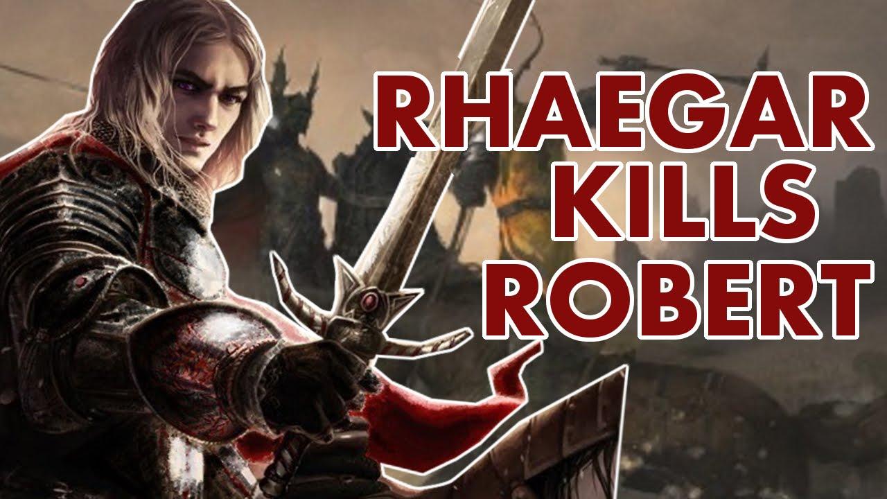what if rhaegar targaryen killed robert baratheon smart simax