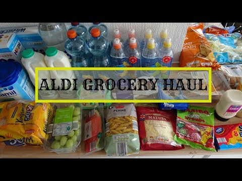 ALDI GROCERY HAUL | UK