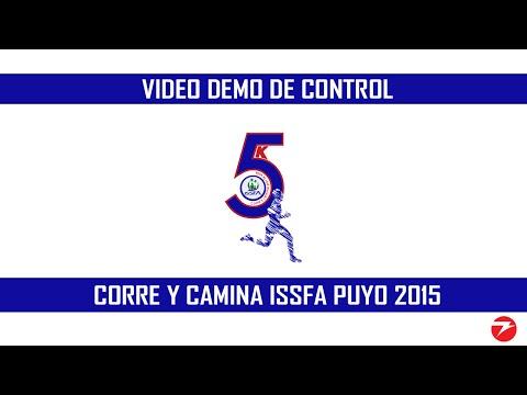 Corre y Camina ISSFA Puyo (Video DEMO de Control)