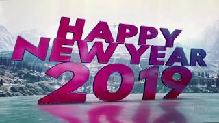PUBG Style Happy New Year 2019  |  whatsapp status | new year wish video