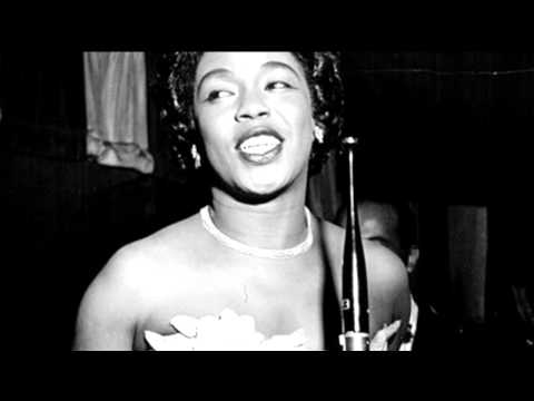 Sarah Vaughan sings