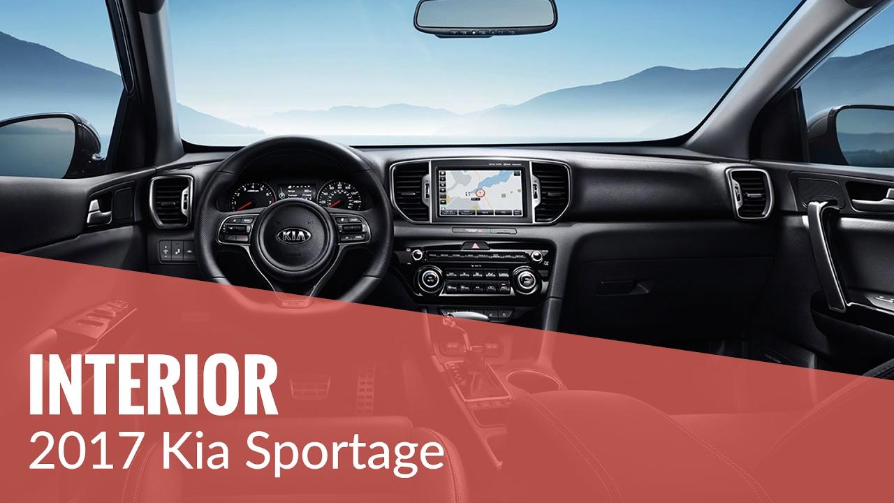 The 2017 Kia Sportage Interior