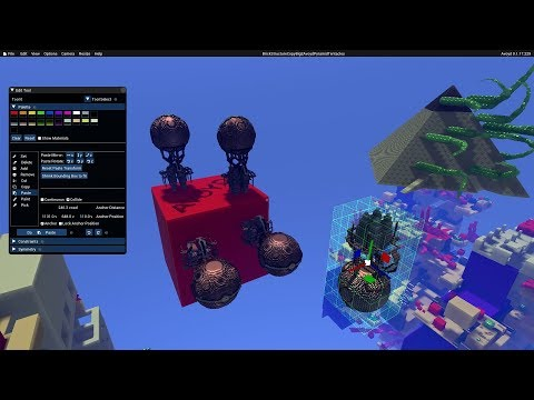 Avoyd 6DOF FPS Voxel Game - Editor Tutorial 2: Load Brush
