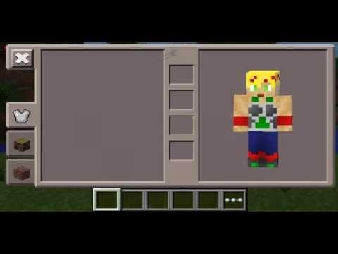 Minecraft PE Super Saiyan Bardock Costume Skin YouTube - Skins para minecraft pe broly