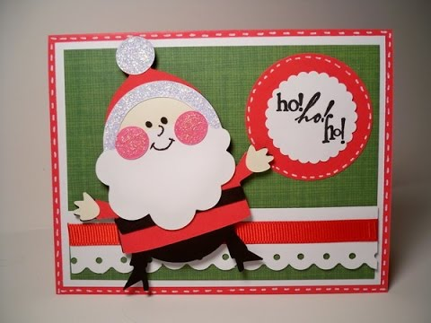 20 Handmade Santa Claus Card Ideas For Kids Youtube