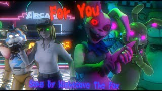 """[SFM/FNAF] """"For You"""" Security Breach Song [FULL ANIMATION]"""