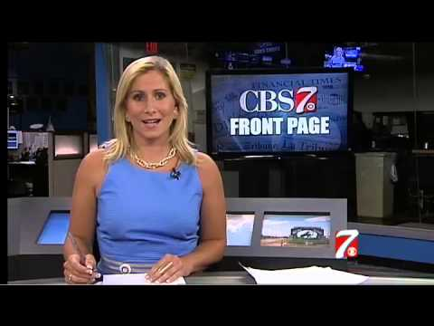 CBS 7 News Front page