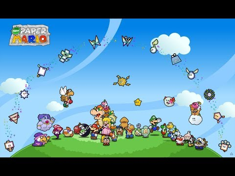 Relaxing Music from Paper Mario Series