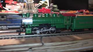 ho 0-6-0 steam engine smokey mountain express runs ontrack video inside bachmann