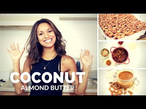 Coconut Almond Butter   The Babbling Brooke Cooks