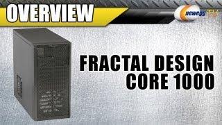 Newegg TV: Fractal Design Core 1000 Micro ATX Computer Case Overview