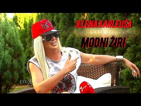JELENA KARLEUSA // Exkluziv - Modni ziri / Tv PRVA 18.07.15