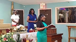 Humble Ourselves | Greater Palm Bay COG| Sunday Service | Evangelist Natasha Collins | 7.12.2020