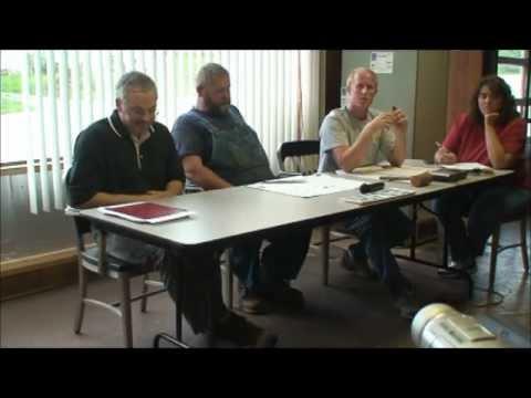May 8, 2012 Junk Car Hearing, Bowling Green Township (Windows Movie Maker Version)