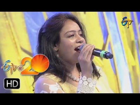Srilekha,Deepu Performance - Regumullole Song in Kurnool ETV @ 20 Celebrations