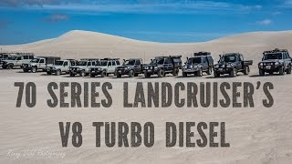 Awesome 70 series landcruiser video