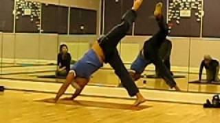 Neil Patel - Chi Kri Yoga - 1 legged peacock sequence