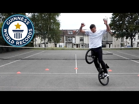 BMX - Most deathtruck spins in one minute - Guinness World Records