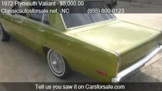 1972 Plymouth Valiant  for sale in Nationwide, NC 27603 at C #VNclassics