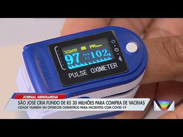 TV Vanguarda - Distribuição de oxímetros
