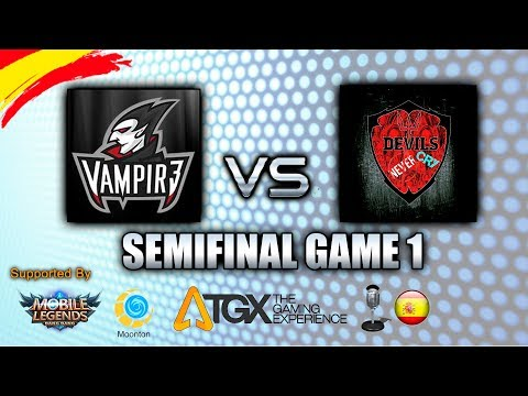 VAMPIR3 vs DNC - SEMIFINAL GAME 1 - TGX.ES SPANISH TOURNAMENT (MSC) ✪ Mobile Legends: Bang Bang