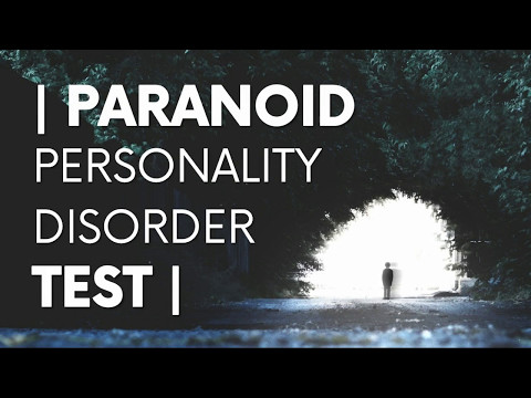 Paranoid Personality Disorder Test