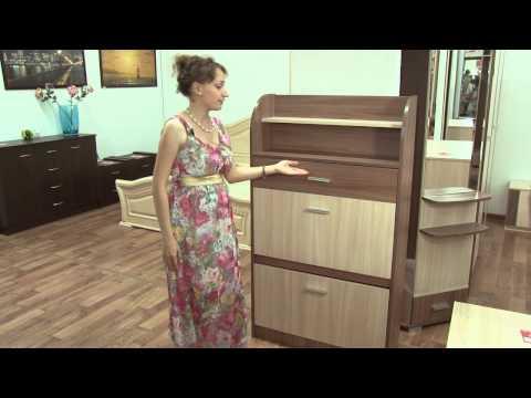Прихожка-2. Тумба для обуви Сокме.  800 2Д/1Ш - Shkaf.biz.ua
