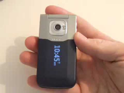 Rogers Nokia 7510 Video Review