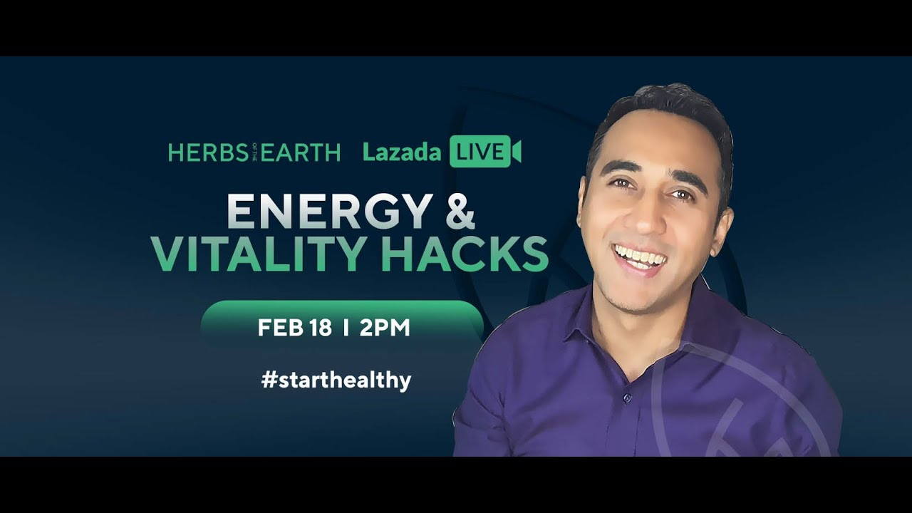 Energy and Vitality Health Tips and Hacks from Herbs of the Earth