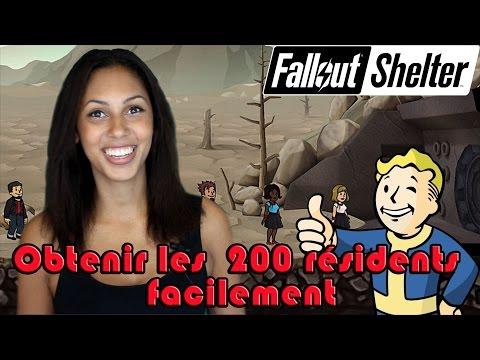 [FR] Fallout Shelter : Arriver Facilement Aux 200 Résidents