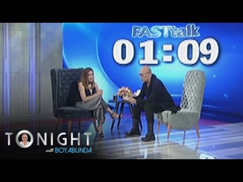 TWBA: Fast Talk with Angeline Quinto