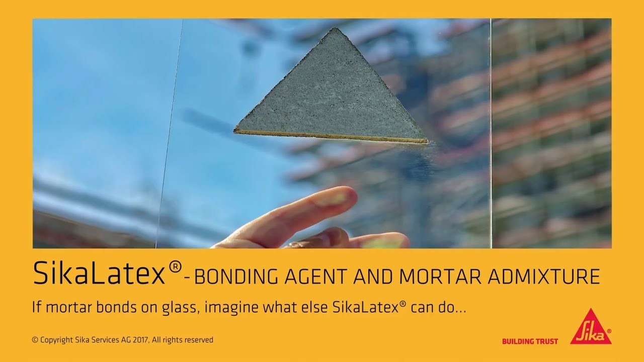 Sika Latex® Bonding Agent and Mortar Admixture