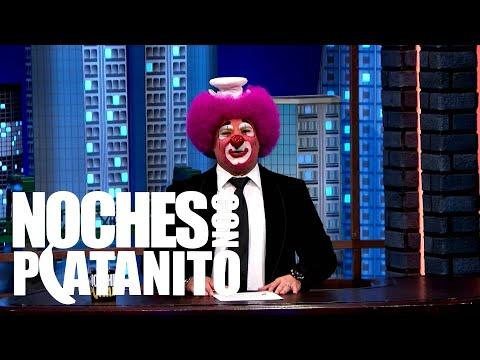 EL PIOLÍN, NATALIE DREYFUSS, JONATHAN SADOWSKI Y ADRIEL FAVELA  NOCHES CON PLATANITO
