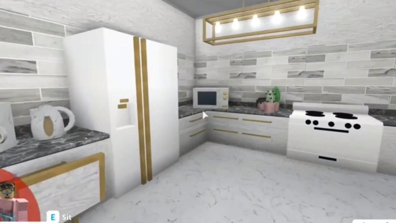 Bloxburg Aesthetic Kitchen 9 1k Youtube