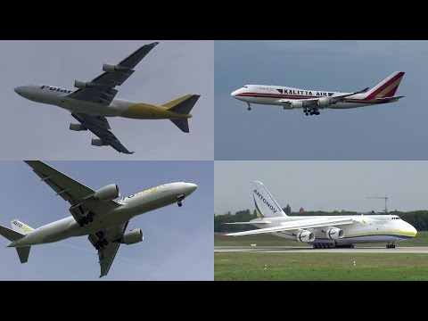 Plane Spotting in Leipzig | May 2016 | 747, 777, An-124, An-225, A400M
