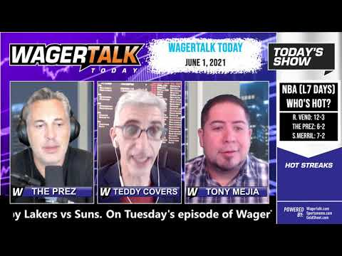 Free Sports Picks and Sports Betting   MLB Picks and NBA Betting Previews   WagerTalk Today   June 1