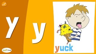 Letter Y Practice - Phonics and Vocabulary - Think Read Write - ELF Learning