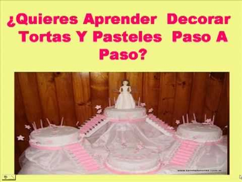Como decorar tortas infantiles youtube for Como decorar