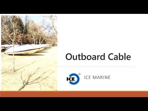 Outboard Boat Cable
