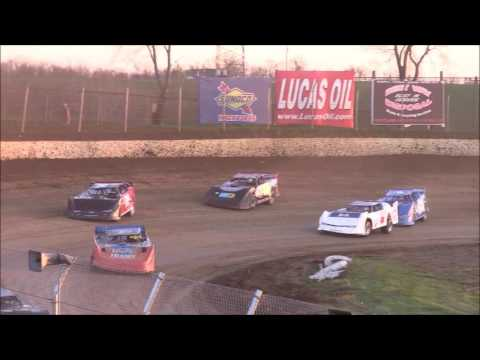 Crate Late Model Heat #1 from Florence Speedway, April 8th, 2017.