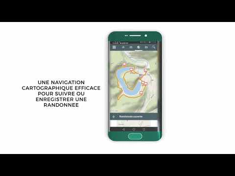 application android pour gps vtt