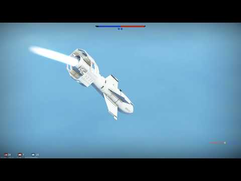 Testing Fritz X against Carrier in War Thunder