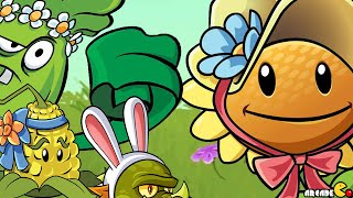 Plants vs Zombies 2 - ALL Easter Day Special Costumes Yeti Pinata Party 4/10! iOS/Android