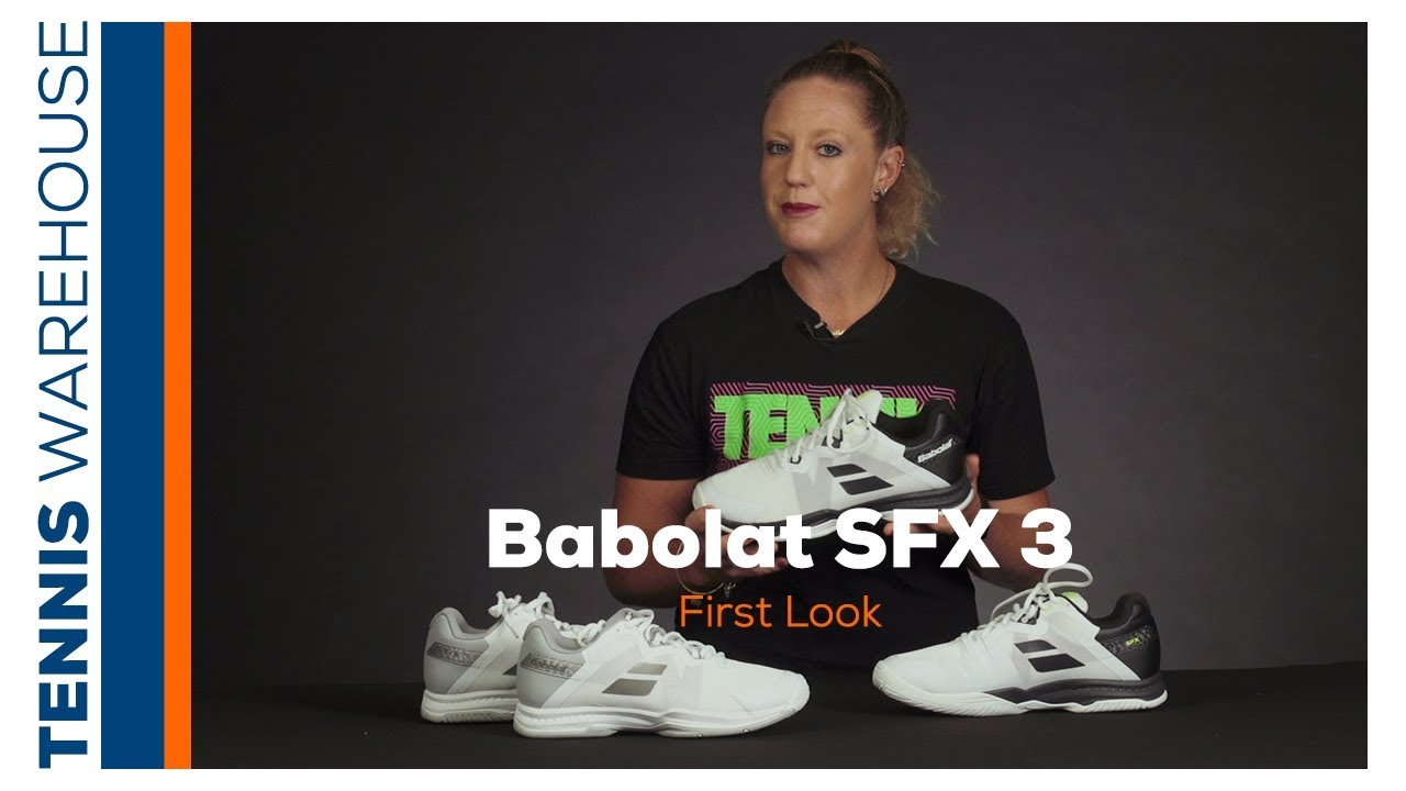 official photos cd615 f661e First look at the new Babolat SFX 3 Tennis Shoe (Available July 24th!)