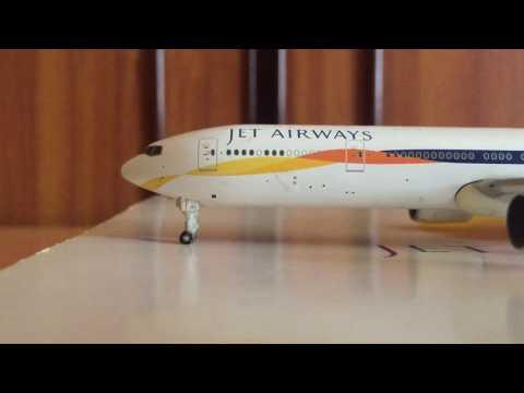 Gemini Jets Jet Airways Boeing 777-300er review ( RARE MODEL !!!)